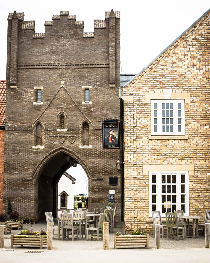 We are just a couple of minutes from the village centre - John Paul Jones pub with pool through the archway