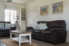 Lounge with 3 seater and 2 seater sofas