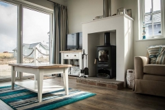 Lounge with log-burner